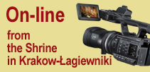 Webcam on-line from the Shrine in Krakow-Łagiewniki