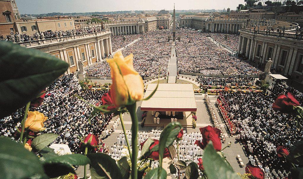 Canonization Ceremony | Mercy - Saint Faustina - Diary - Jesus, I ...