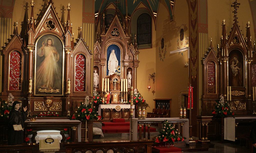 Chapel of the miraculous image of the Merciful Jesus and the