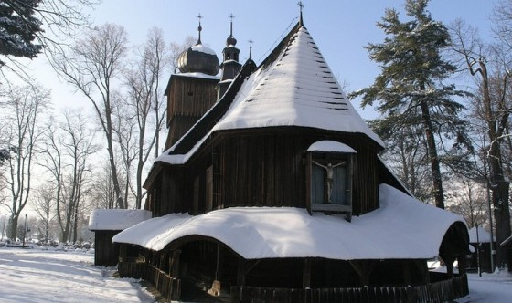 Lachowice - kosciol Piotra i Pawla