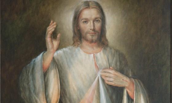 Jezus Miłosierny z Sanktuarium w Plocku