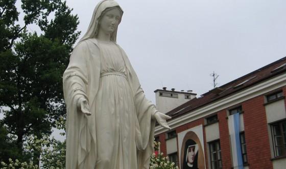 Maryja i Siostra Faustyna