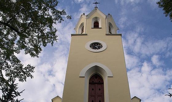Szczawnica - kosciol parafialny sw Wojciecha