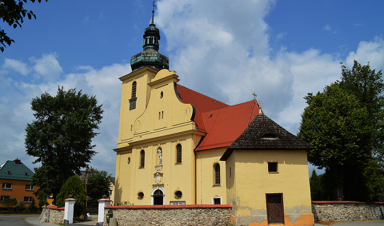 Tarnow Opolski - kosciol sw Marcina