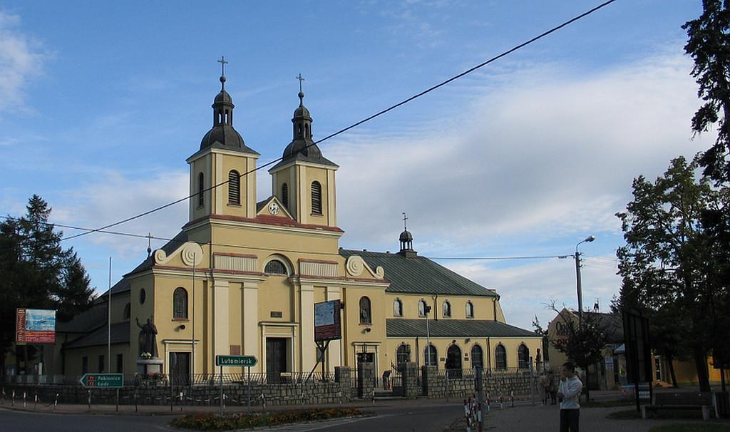 Main Altar Consecration In Aleksandrow Lodzki Mercy Saint