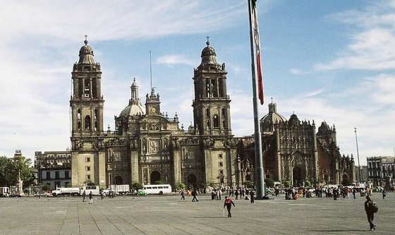 Katedtra w Mexico City