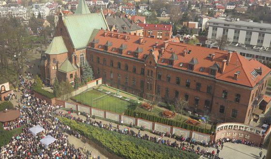 Sanktuarium w Krakowie-Lagiewnikach - klasztor ZMBM